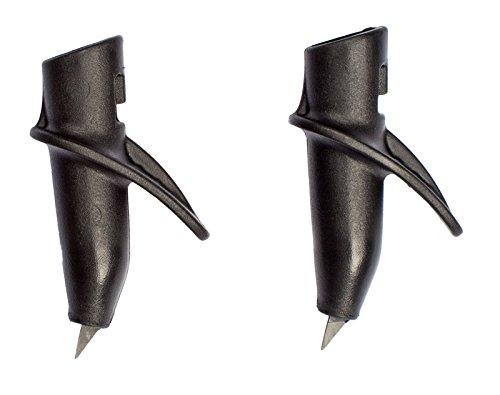 EXEL NW Aero2 Tip, schwarz (1 Paar)