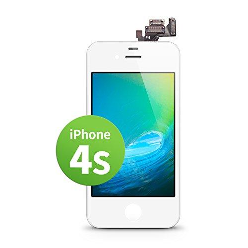 s LCD Touchscreen Retina Display Ersatz in Weiß für Einfache Reparatur, FaceTime Kamera, 100% Kompatibel mit Apple (kein Set) ()