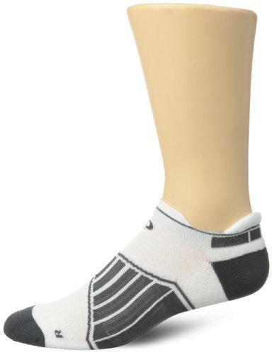 Pearl Izumi Herren Fly Run No Show Socken, Herren, weiß