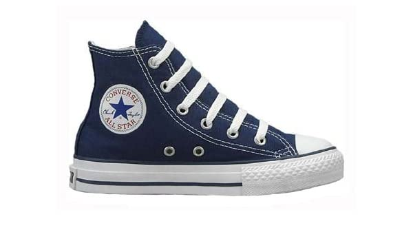 a214d8bc1acc Converse Kids s CONVERSE YTHS CHUCK TAYLOR ALL STAR HI BASKETBALL SHOES 11  Kids US (NAVY)  Amazon.co.uk  Shoes   Bags
