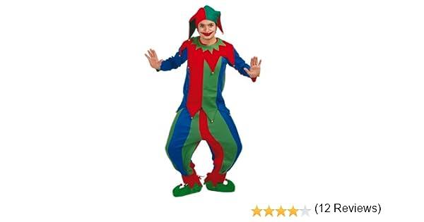 Rosso E Verde Cappello Da Giullare