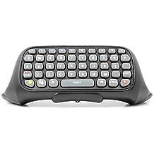 Neuftech® 47 Tasten Wireless Tastatur Chatpad Keyboard (QWERT) für Xbox 360 Controller - Schwarz