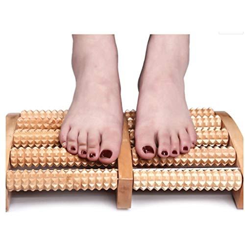 MMASSAGER Fuß Massagegerät, Dual Roller Fuß Massagegerät mit Massage Ball für Plantarfasziitis Recovery - Dual Fuß-massagegerät
