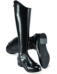 Men's Harry Hall Bottes d'équitation en cuir de qualité Noir Taille 10