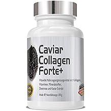 Caviar colágeno Forte+ 300 gramos de mezcla de polvo I anti-envejecimiento con Caviar colágeno