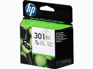 Original XL Tinte HP 301 , 301XLCH 564 EE , CH564EE - Premium Drucker-Patrone - Cyan, Magenta, Gelb - 330 Seiten - 8 ml (Hp 564 Drucker)