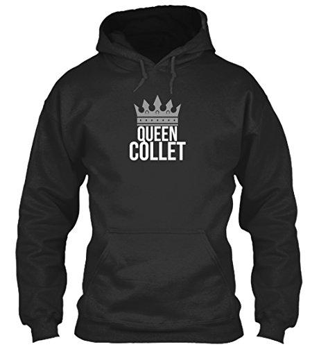 teespring Men's Novelty Slogan Hoodie - Collet Simply Queen Collet