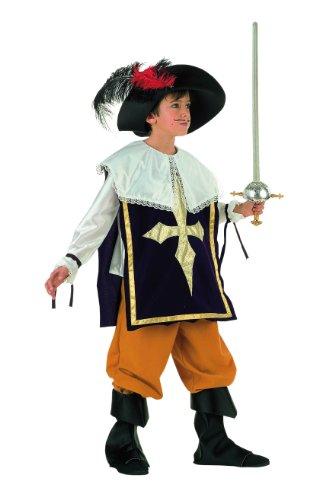 Limit Sport MI341 Gr. 3 - Musketier mit Hut 4-teilig (Mädchen Musketiere Kostüme Drei Für)