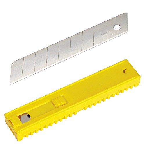 Maurer Plus 2510820 Lot de 10 lames de cutter de 18 mm