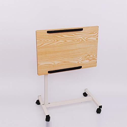 Rabbfay Medizinischer Faltbare Tilt Overbed Nachttisch Mit Bremsrollen Verstellbare Over Nacht Home Desk Für Krankenhaus- Und Heimgebrauch,B