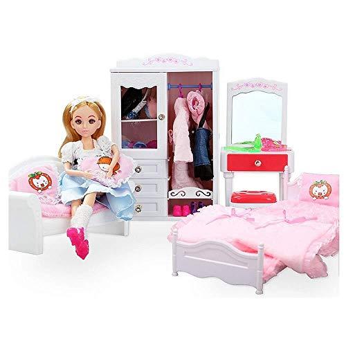 LIULAOHAN Tienda de campaña Juguetes Divertidos for niños Muñeca Sueño Dormitorio Muebles...