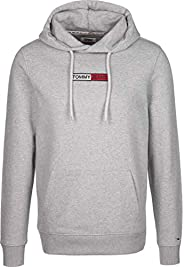 Tommy Jeans Men's TJM Embroidered Box Hoodie Ho