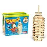 JeuJura 8331 - Juego de construcción de madera (100 piezas)