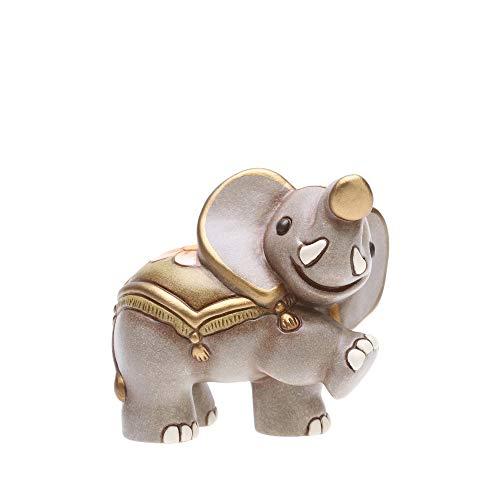 Thun® - mini elefante in cammino re magi - statuine presepe classico - ceramica - i classici
