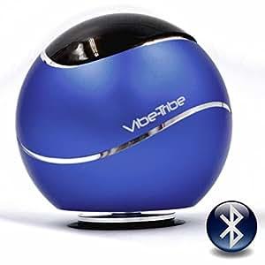 Vibe-Tribe Orbit - Yale Blue: 15 Watt Bluetooth Vibration Speaker, vivavoce, suction base integrata