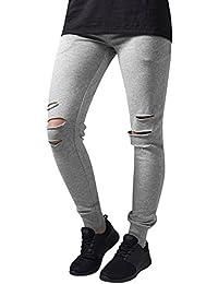 Urban Classics Damen Hose Ladies Cutted Terry Pants