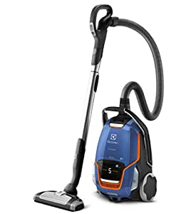 Electrolux UODELUXE UltraOne Aspirateur avec Sac Bleu Acier Métallisé 2200 W