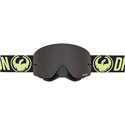 Drachen NFX MX Schwarz, Gelb Motocross Goggles