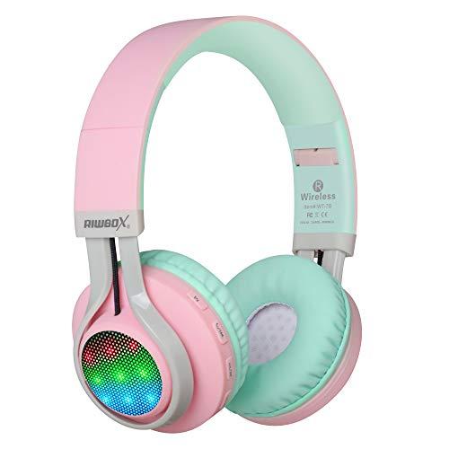 Riwbox WT-7S - Auriculares de Diadema para niños