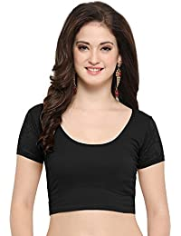 74295cd91b24d Amazon.in  Blacks - Blouses   Ethnic Wear  Clothing   Accessories