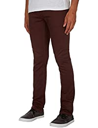Pantalon Volcom 2X4 Twill 5Pckt - Plum-Rouge