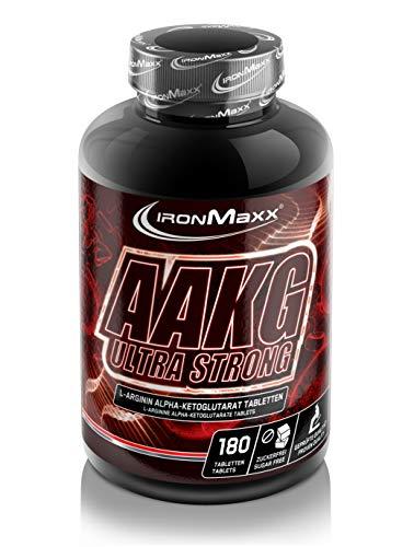 IronMaxx AAKG Ultra Strong, 180 Tabletten -