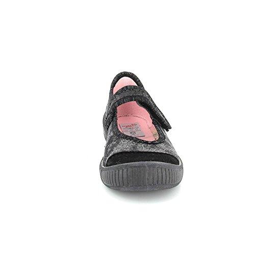 Superfit  00261-00, Chaussons Mules fille Noir