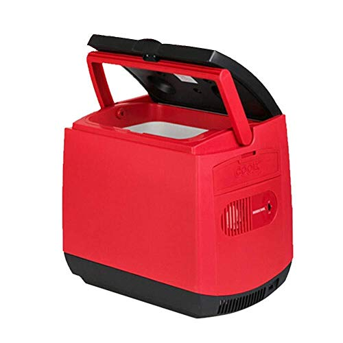 ZHENYUE Car ini frige Cooler ein warer Teroelectric Tragbare Copact ini Kühlschrank 12v c for outoor Reise -re 25L ZHENYUE (Color : Red, Size : 25L)