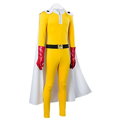 One Punch Man Kostüm - One-Punch Man Saitama Jumpsuits Cosplay Kostüm