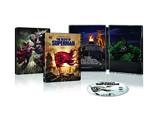 Death of Superman - Steelbook [Blu-ray] [2018]