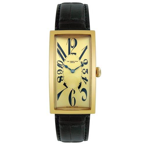 Tissot Hommes T71371822 Heritage Collection 18K Gold Suivre Jaune