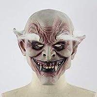 gjghfdhgjgu Halloween Terror Máscara de leprosos Accesorios de Cosplay Enferma de Bruja enferma y Horrible Máscaras