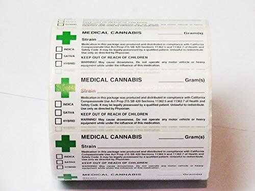 Rx-Aufkleber–Britischer Beschriftungsaufkleber für Medikamente, 100 Labels -