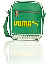 PUMA Campus Portable - Bolsa de hombro, color amarillo, talla única