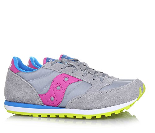 SAUCONY chaussures bébé espadrilles bas SY56443 BOY JAZZ ORIGINAL Gris