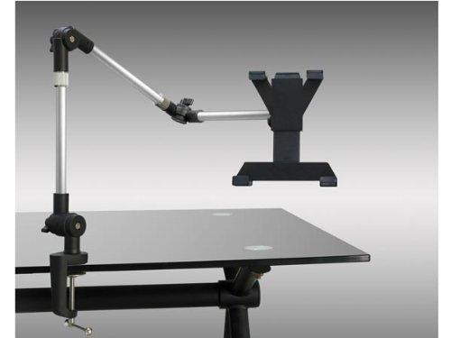 System-S Tischhalterung mit Schwenkarm Flexibel mit Tischklemme für iPad Pro (12, 9