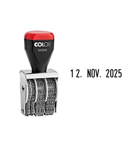 Colop Datumstempel 04000 4 mm Schrifthöhe/4200420200