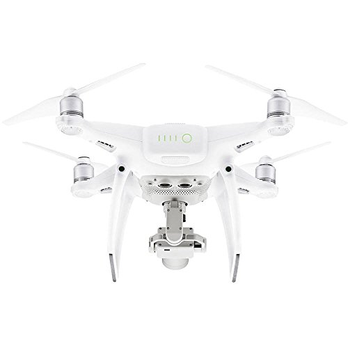 DJI Drone Phantom 4 Pro Plus con Videocamera 20 MP/4K, Bianco