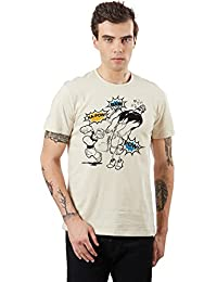 Popeye By Free Authority Men's Half Sleeve T-Shirt