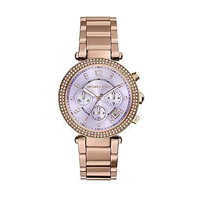 Michael Kors Parker Reloj De Mujer Cuarzo 39mm Correa De Acero Mk6169