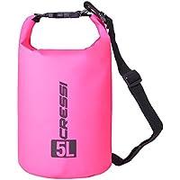 Cressi Dry Bag Mochila Impermeable para Actividades Deportivas, Unisex Adulto, Rosa, 15 L