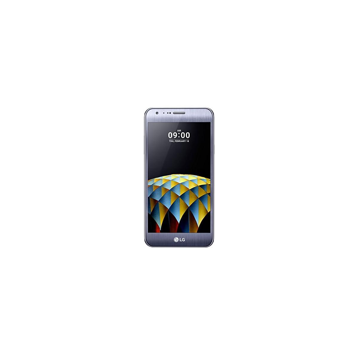 LG X Cam MD 60446 13,20 cm (5,2 Zoll Full HD Display) Smartphone (Octa Core 1,14GHz, 2GB RAM, 16GB Speicher, LTE, NFC, 13MP Frontkamera, Andorid 6, OEM) titan