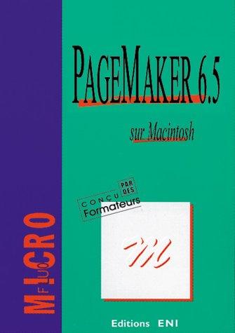 Pagemaker 6.5 sur Macintosh
