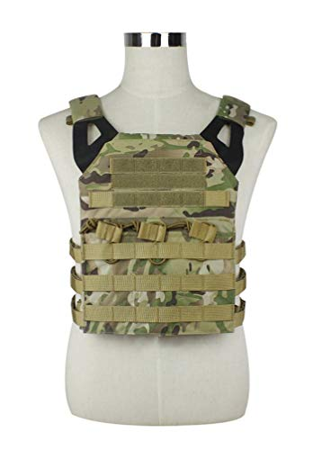 alexsport táctico Molle JPC chaleco Plate Carrier para Airsoft Paintball CS, CP