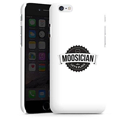 Apple iPhone X Silikon Hülle Case Schutzhülle M00sician Merchandise Fanartikel Let's Play Premium Case matt