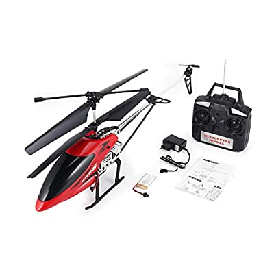 69136 68CM 2.4Ghz 3.5CH Alloy Large RC Helicopter Drone with Gyroscope Light