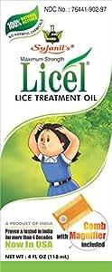 Sujanil Chemo Industries Licel Premium - 100 % Natural Lice Treatment Oil