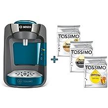 Bosch TASSIMO Suny blau + 3x T Disc Tee Kaffee