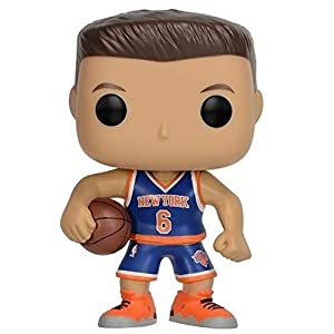 Funko Pop Kristaps Porzingis New York Knicks camiseta azul (NBA 28) Funko Pop NBA
