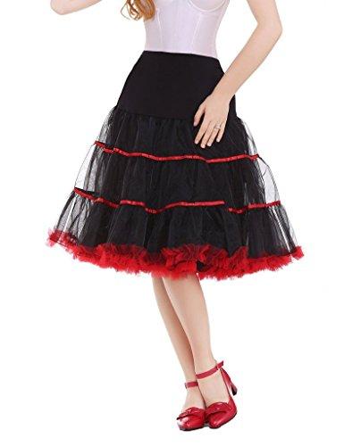 DaisyFormals Due colori 50s Retro sottogonna Vintage Crinolina underskirt Rockabilly